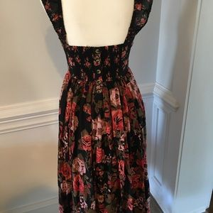 Free People Floral dress small